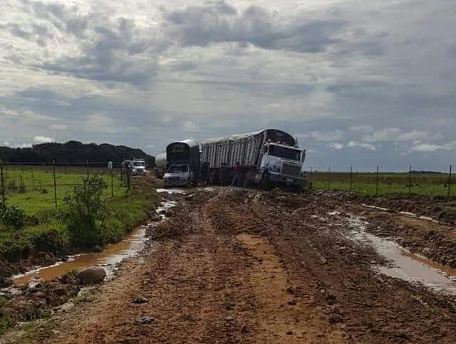 Habitantes de Caño Chiquito,  Centro Gaitan y Guachiría en Paz de Ariporo se quejan por pésimo estado de vía de acceso