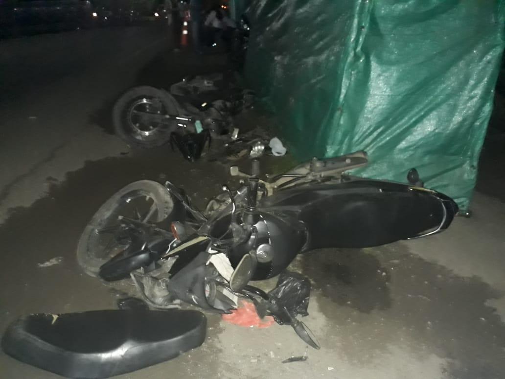 Accidente de tránsito deja 4  personas lesionadas en sector del Cusiana en Tauramena