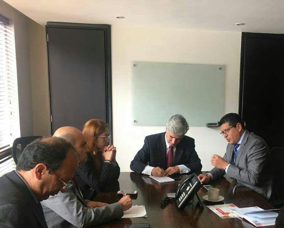 Congresista Casanareño Jairo Cristancho acuerdan trabajo conjunto con ministro de salud Juan Pablo Uribe