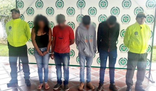 """Desarticulado banda de  """"LOS PANCHOS"""" dedicadas al micro trafico"""