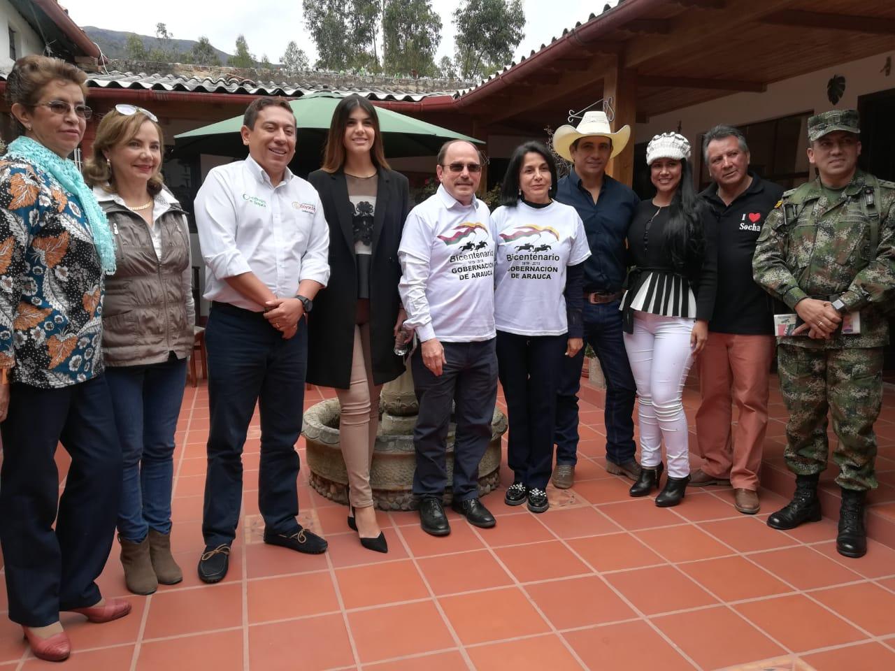 Casanare, Boyacá y Arauca se unen para solicitar recursos al Presidente Iván Duque.
