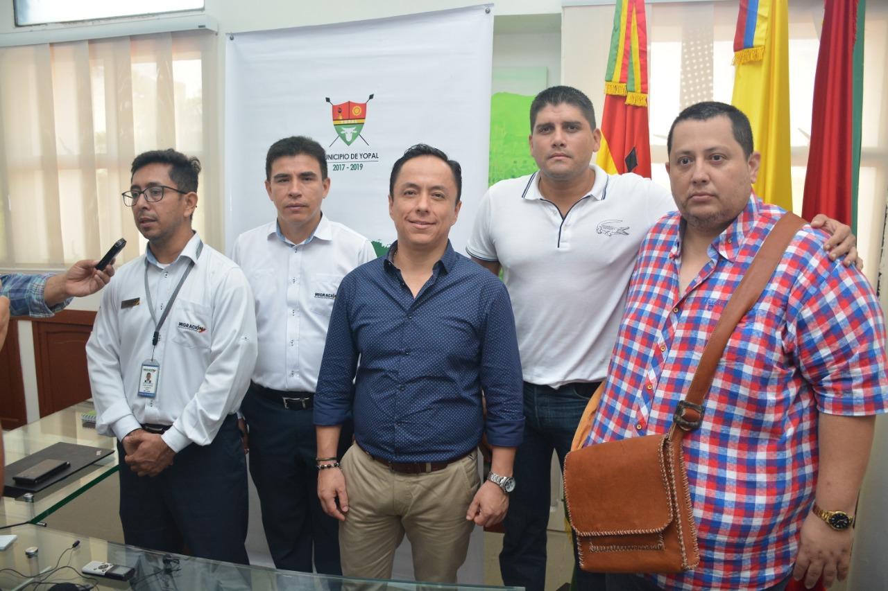 Se activa en Yopal Grupo Especial Migratorio, que controlará llegada de extranjeros