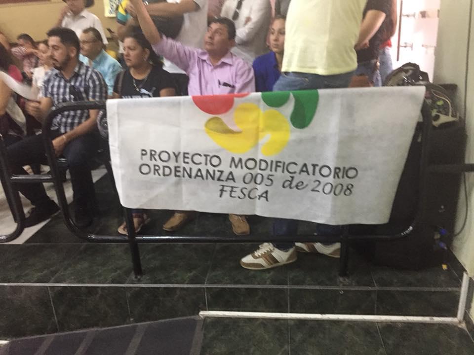 Deudores morosos del FESCA siguen esperando ordenanza  que alivie pagos de intereses morosos