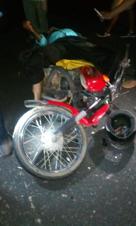 Muere Motociclista en zona rural de Hatocorozal