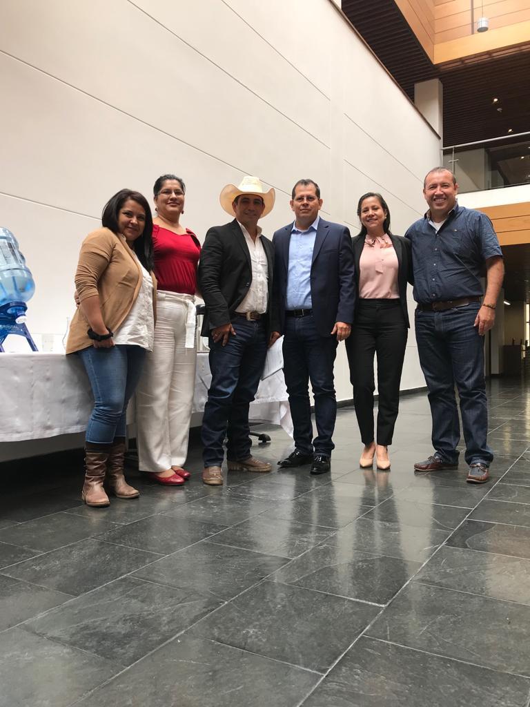 Josué Alirio Barrera logró aprobación de cuatro proyectos en Ocad Regional valorados en  mas de $19  mil millones