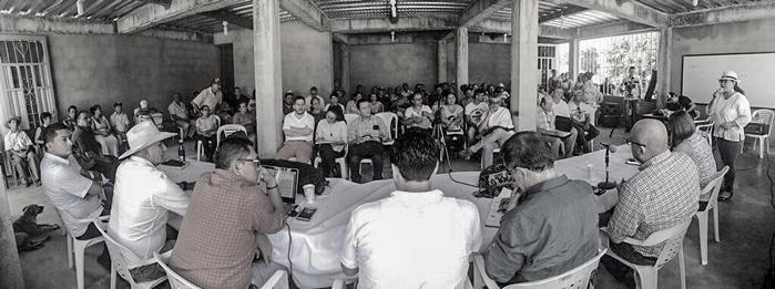 Con más dudas que soluciones salieron habitantes de la Guafilla  de sesión del concejo  sobre proyecto de  vía Aguazul Yopal