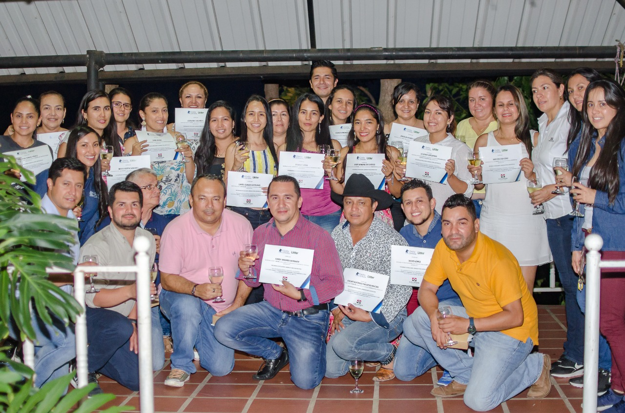 Representantes de empresas de Tauramena finalizan diplomado en derecho laboral