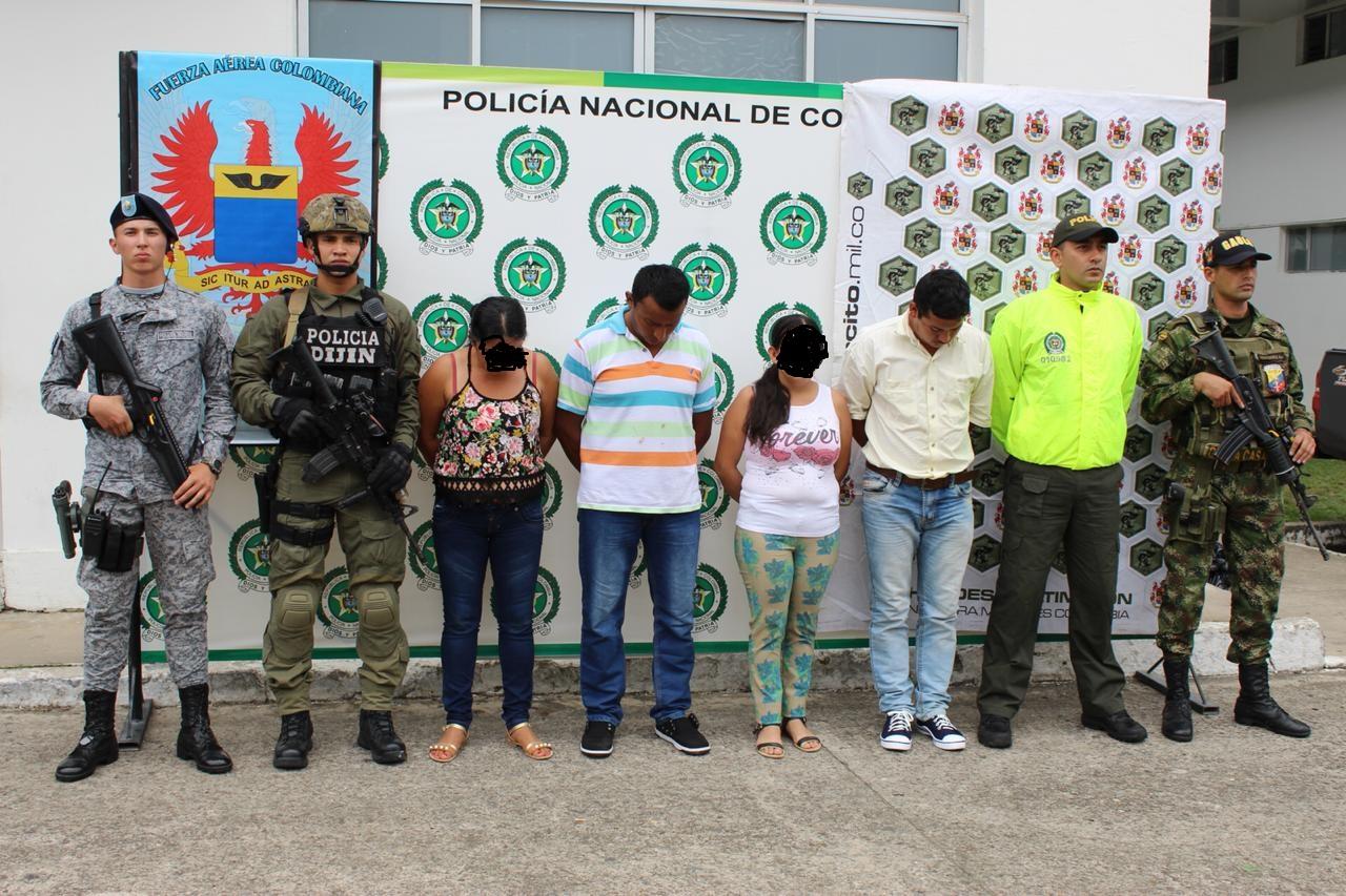 Capturan presuntos integrantes de red de apoyo del Eln en Casanare