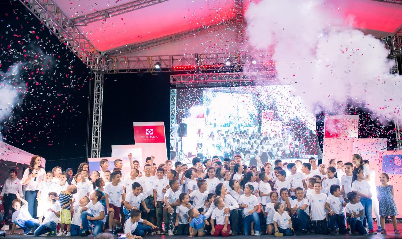 GeoPark y la Fundación Colombia Somos Todos James Rodríguez firman alianza en beneficio de 200 niños y jóvenes de Casanare