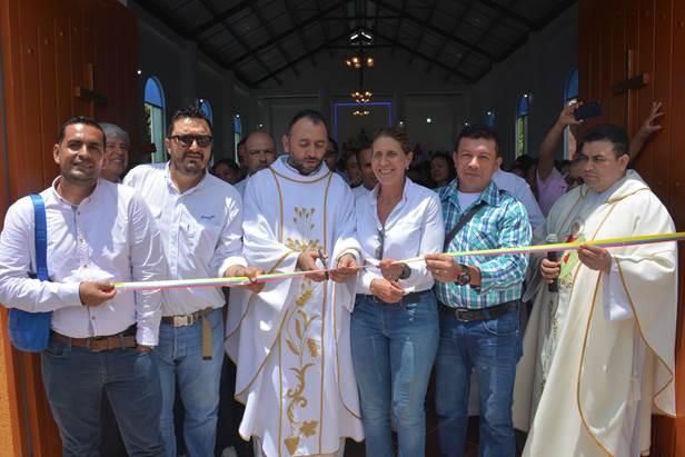 """""""La nueva Iglesia de El Morro es ejemplo de crecimiento en valores"""", Presidenta de Equión"""