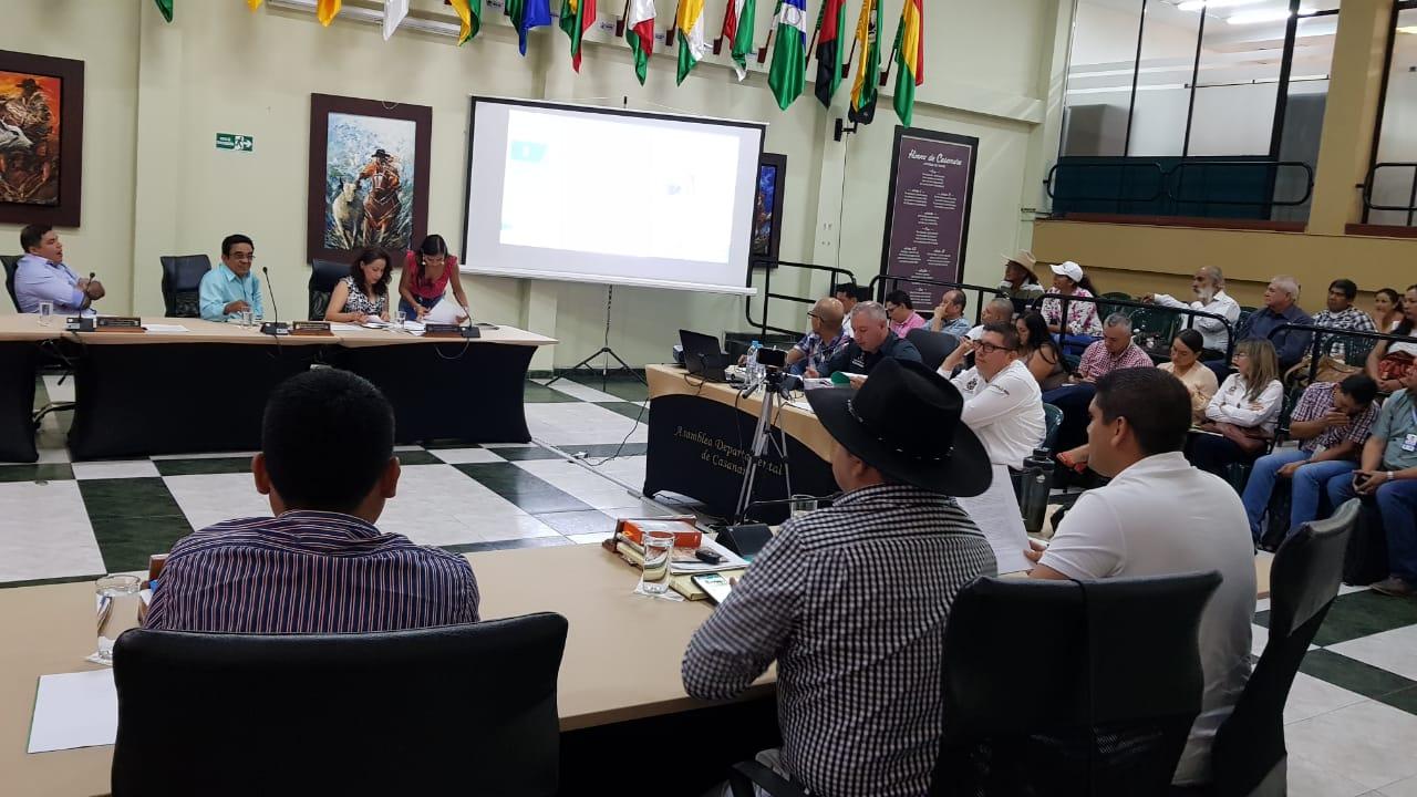 Diputado Luis Hernando Otalora denuncia perdida de recursos en contrato de electrificación en Paz de Ariporo y Nunchia.