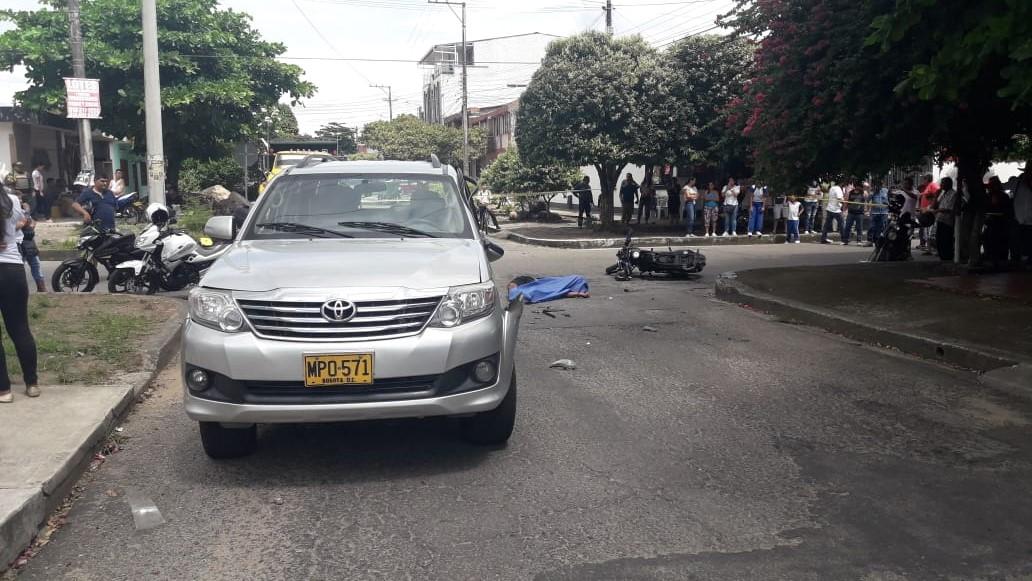 En accidente de tránsito en Yopal perece Jhorman Andrés Rodríguez Cortez