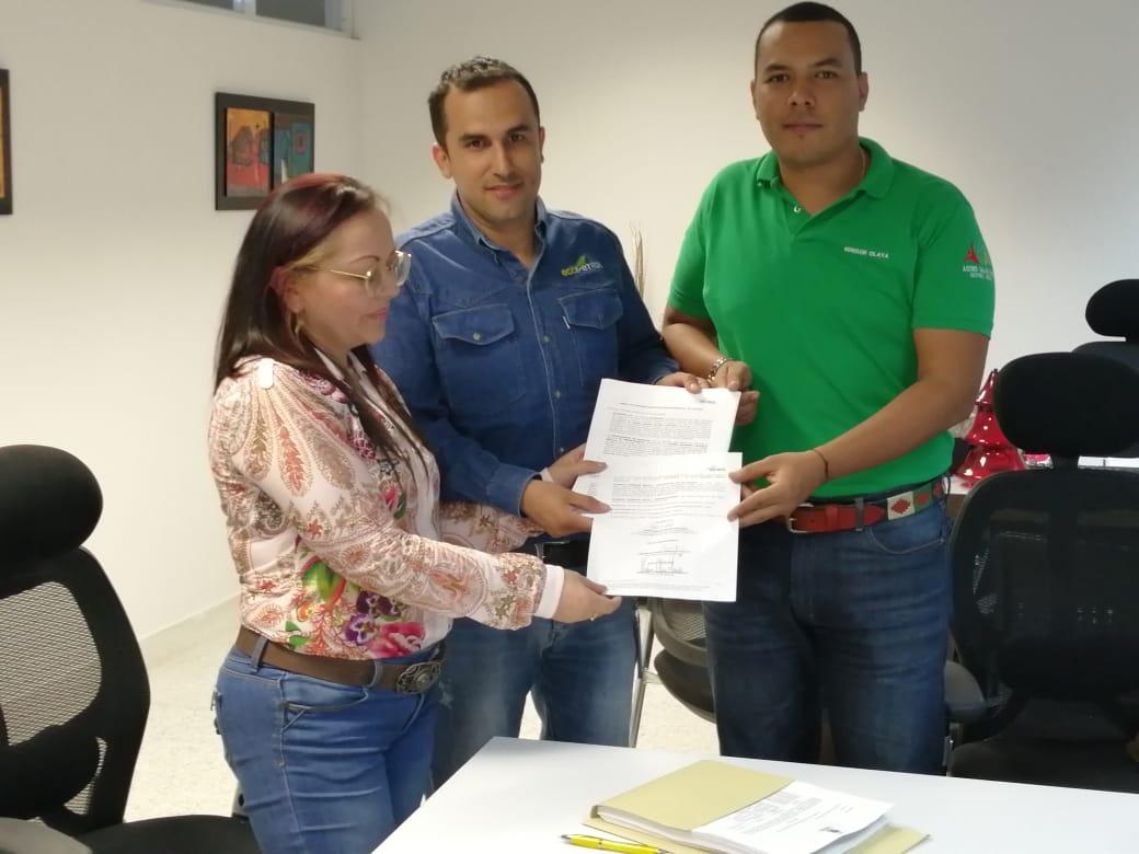 Ecopetrol, Gobernación de Casanare y Alcaldía de Aguazul firman convenio para mejoramiento de anillos viales