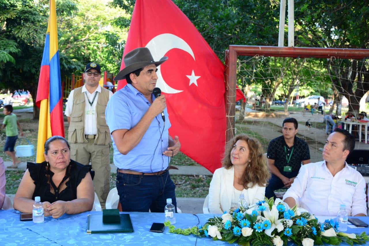 Gobernador de Casanare otorgó reconocimiento a embajadora de Turquía en Colombia
