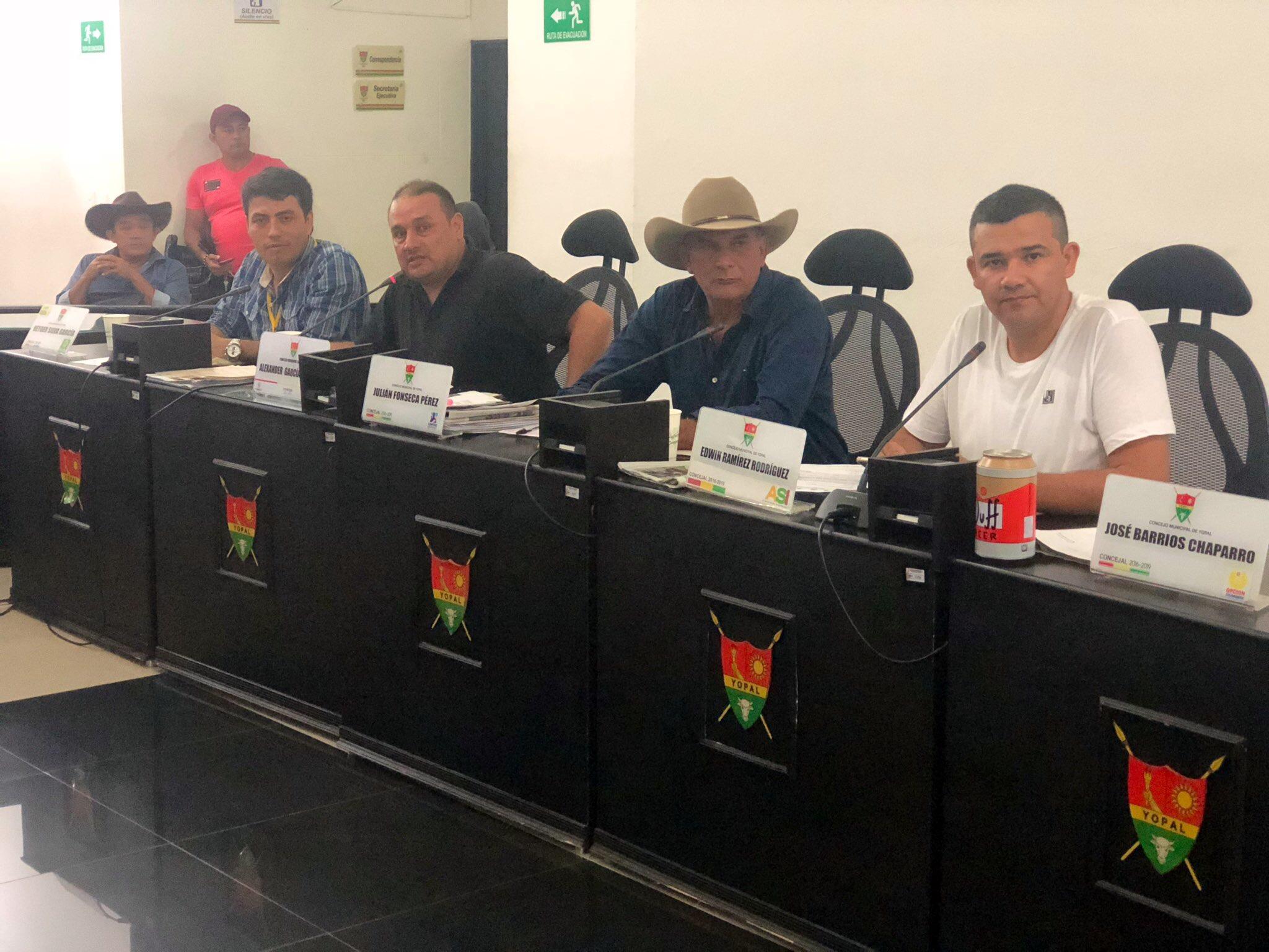 Concejo de Yopal  discute proyecto para dar oportunidad laboral a recién egresados de programas de pregrado
