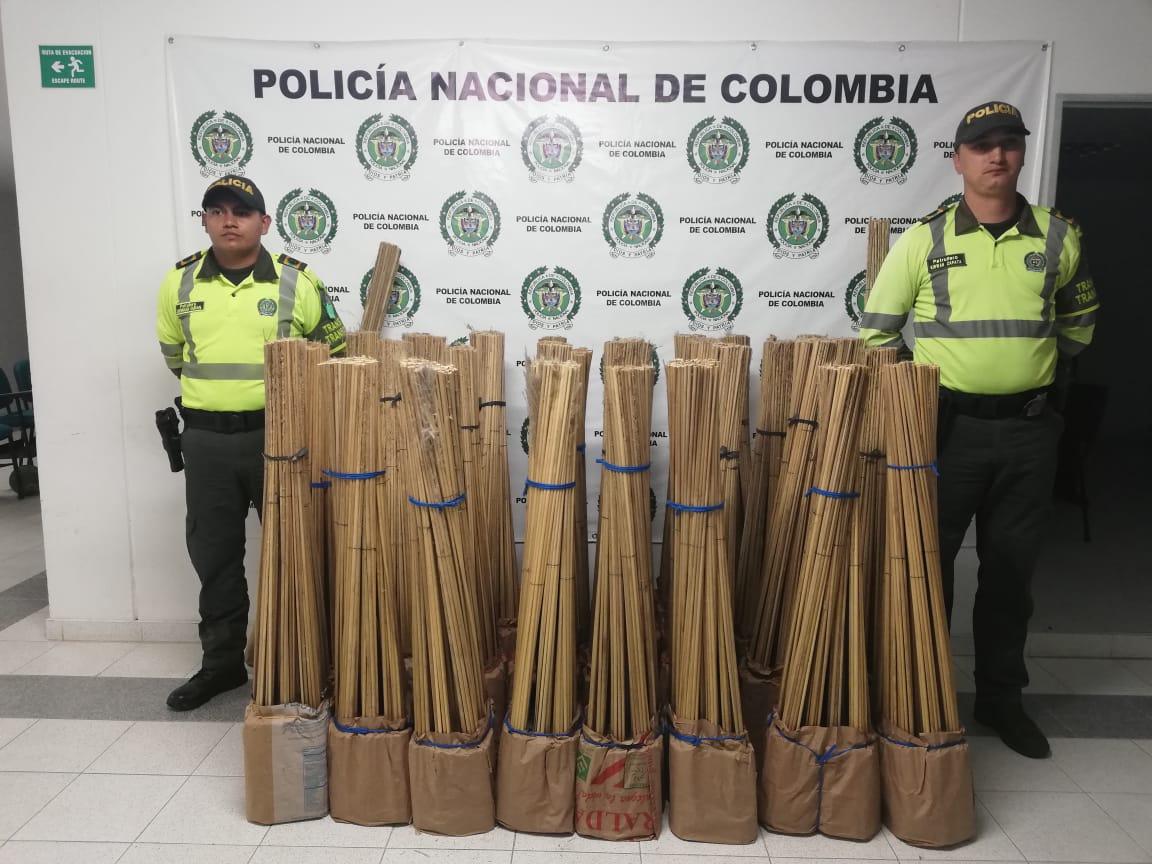 Policia incauta en Sabanalarga pólvora avaluada en $16 millones