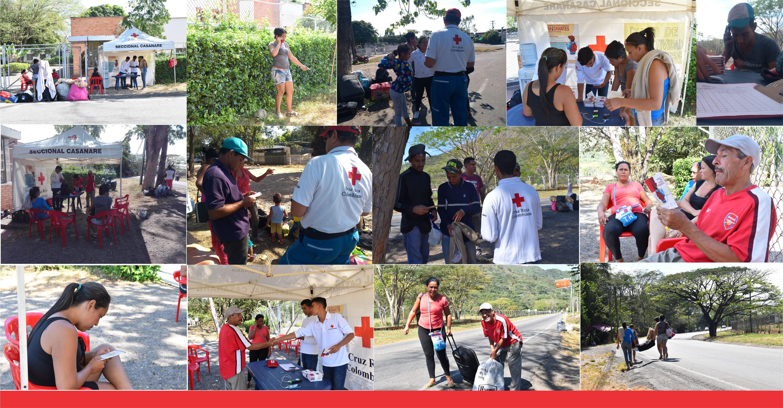 Cruz Roja brinda servicio de Restablecimiento de contacto Familiar  a migrantes