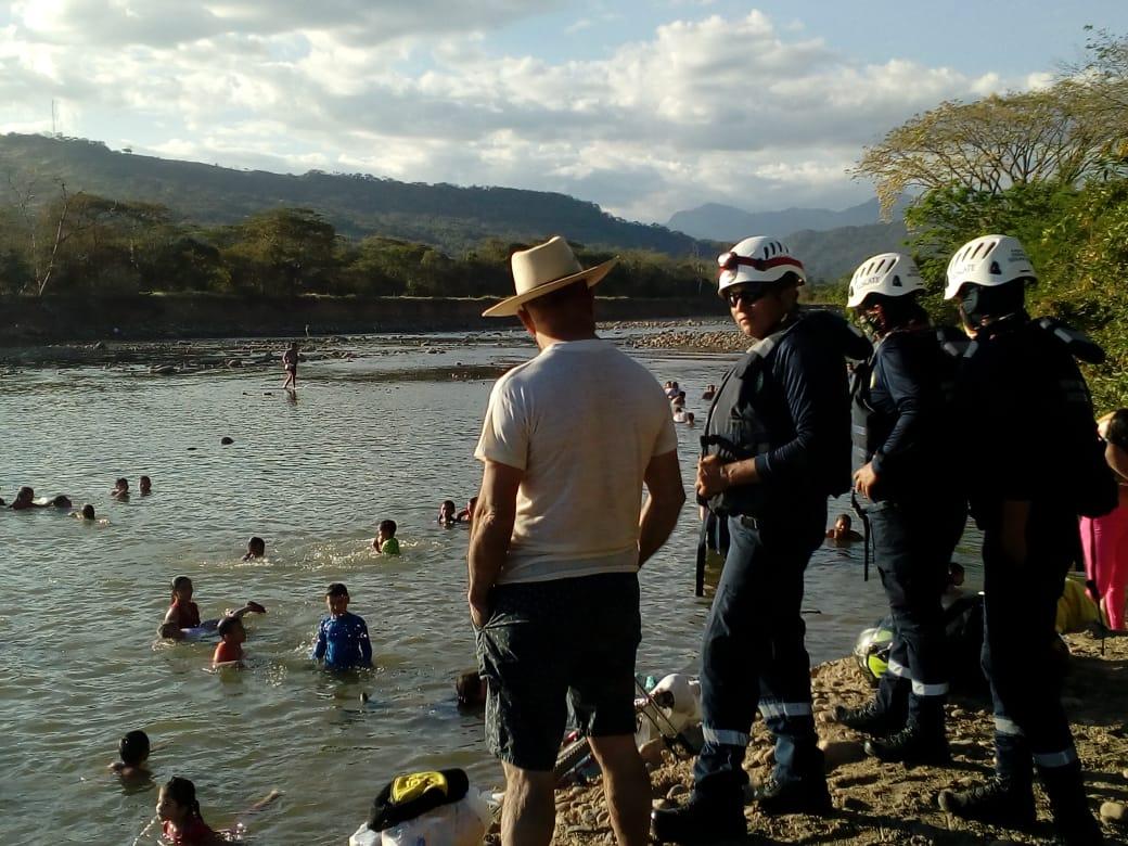 Mucho turista en ríos de Casanare