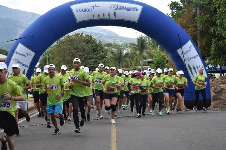 Equión realizó séptima Maratón 10K Piedemonte