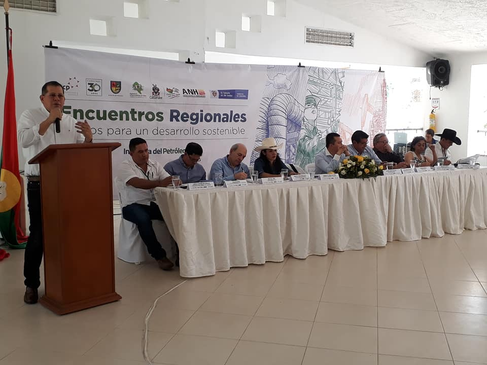 En Mesa regional de Aguazul   discutió reforma de regalías