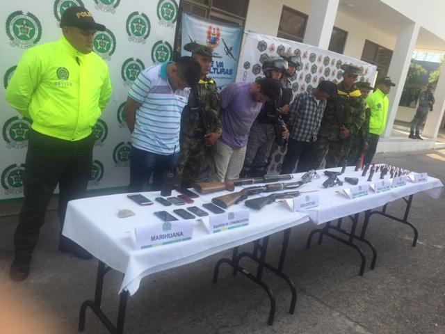 Capturas en vereda Vevea de Mani coloca en alerta autoridades