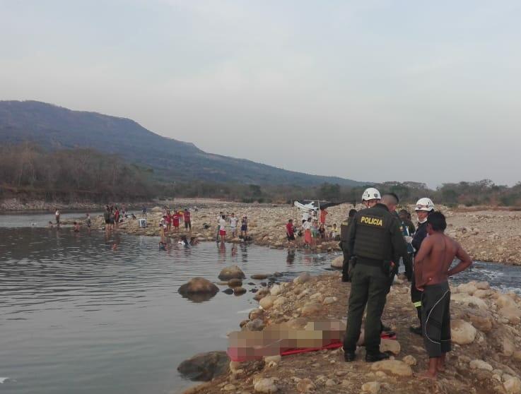 Muere ciudadano bogotano en rio Unete en Aguazul