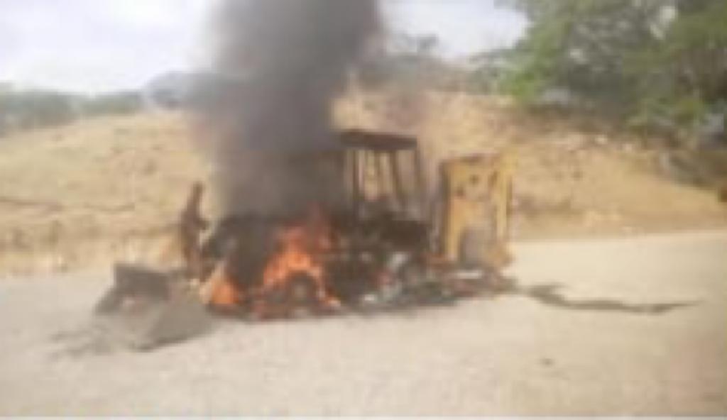 Desconocidos queman maquinaria de  Consorcio Rio  Cusiana en Tauramena