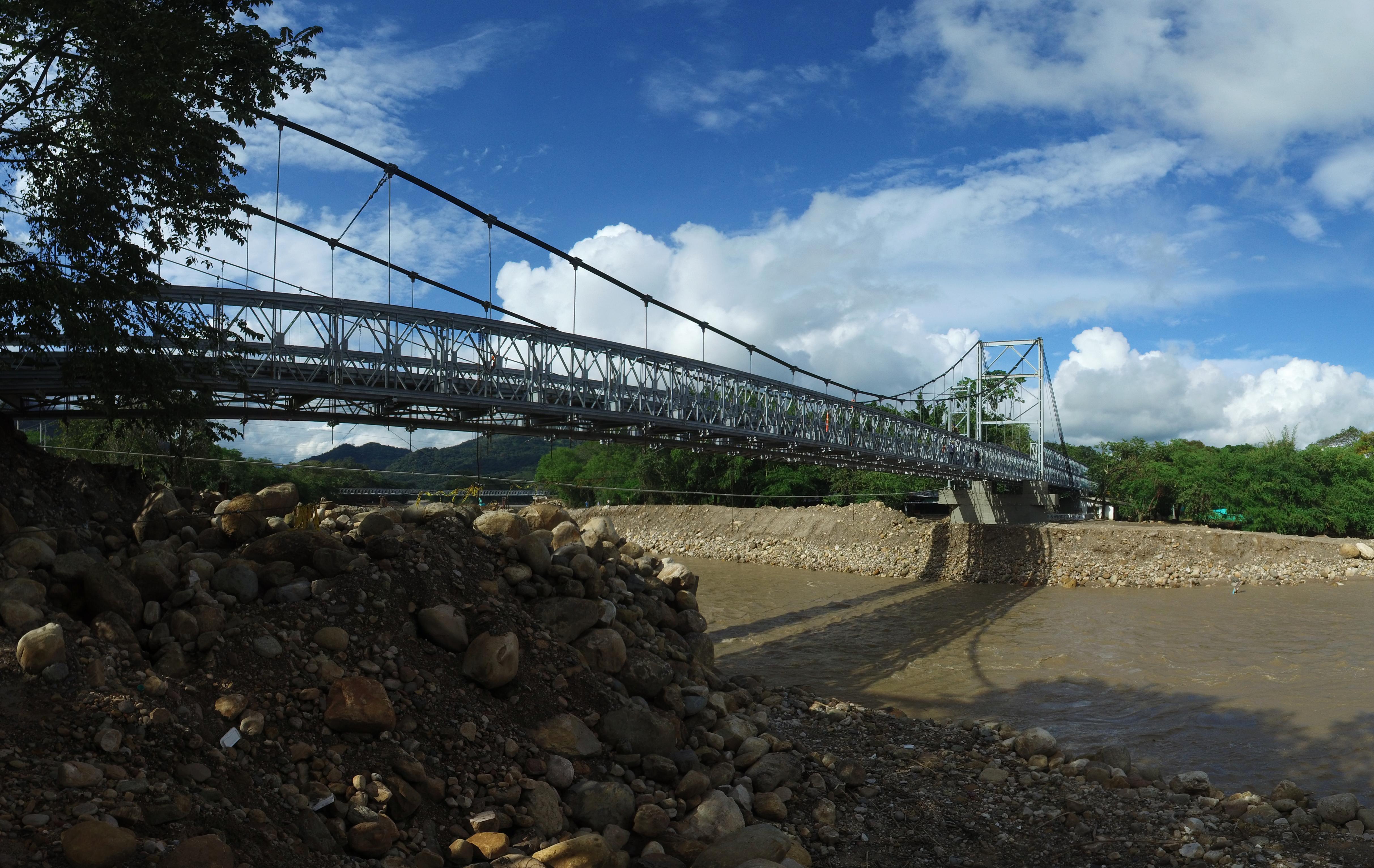 Covioriente realizará mantenimiento nocturno a  puentes  de El Charte