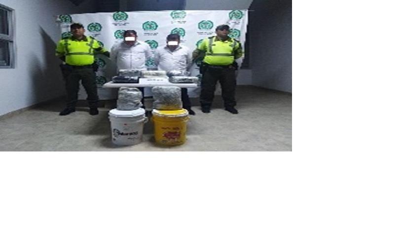 Incautan 7 kilos y medio de marihuana en Villanueva