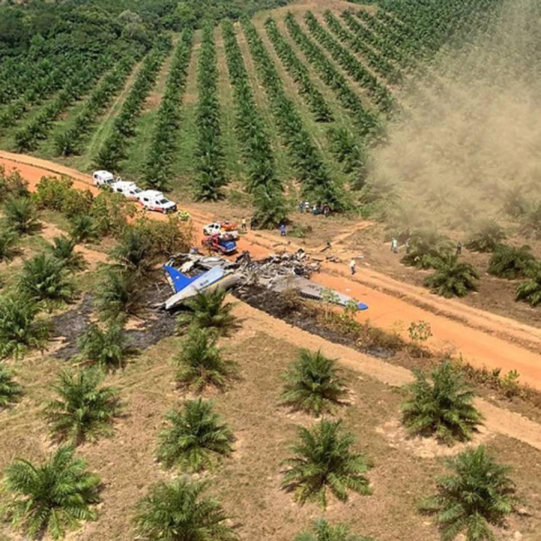 10 personas mueren en siniestro de avión  que volaba  entre el Guaviare y el Meta