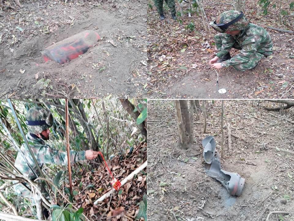 Ejército destruye artefactos explosivos instalados por el ELN en Casanare