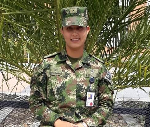 La primera mujer con formación en operaciones antidisturbios del Ejército Nacional, está en Casanare.