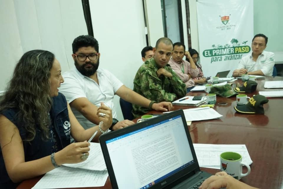 Nuevamente comunidad NASA residente en Yopal denuncian amenazas