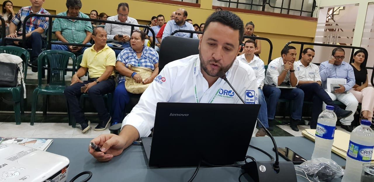 Debate de control político a gerente de HORO no cumplió con expectativas citadas