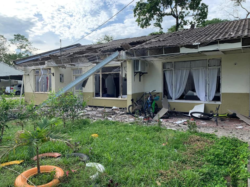 Atacan con explosivos batallón militar en Saravena