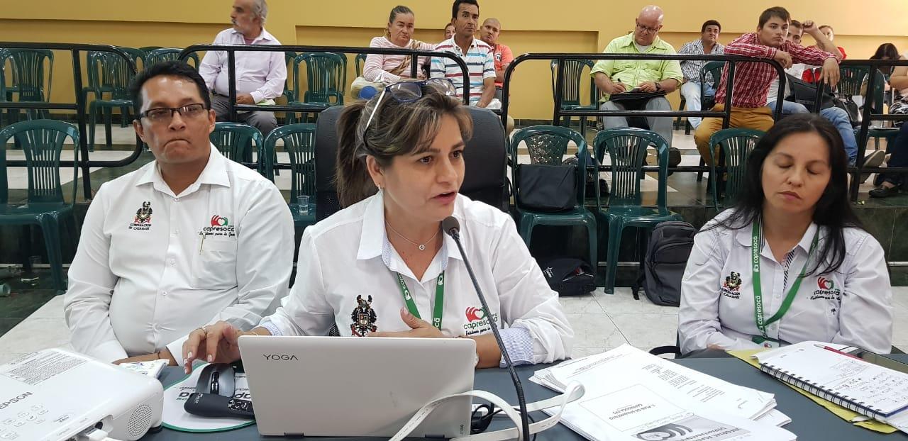 """Nuria Bohórquez gerente de Capresoca  """" El balón está en manos de Planeación Nacional"""""""
