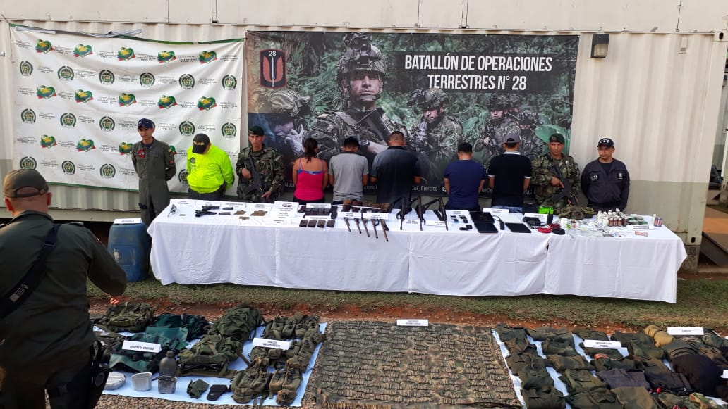 Ejército  capturó a alias Oswaldo o Sargento Navas y cinco integrantes más del ELN en Vichada