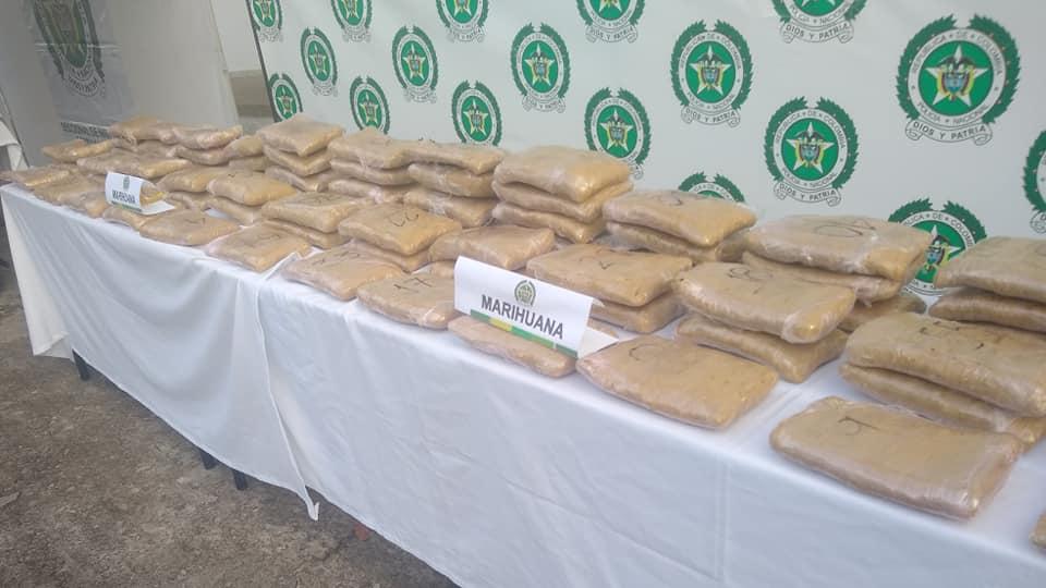 Nuevo golpe al micro Tráfico de marihuana en Yopal