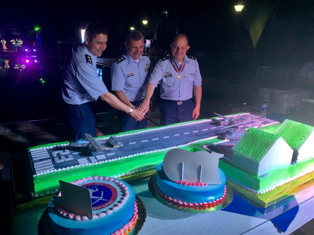Noveno aniversario conmemoró el Grupo Aéreo del Casanare