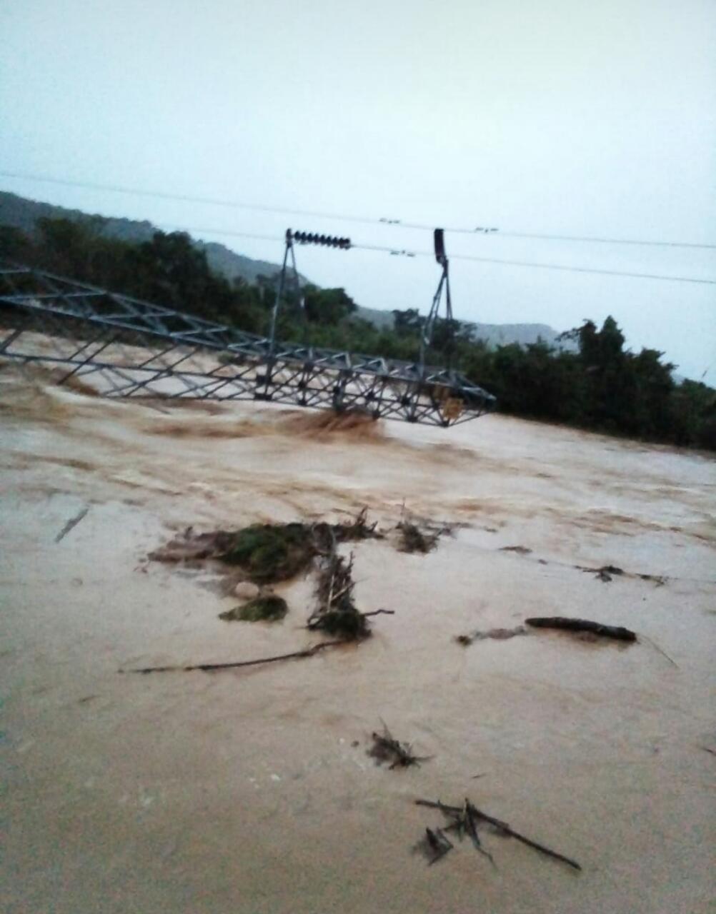 Por colapso de torre de Energia norte de Casanare sin luz