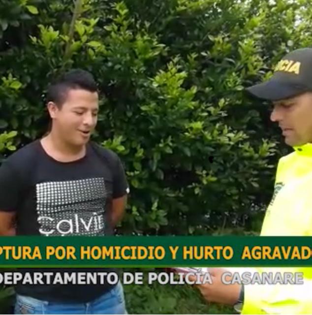 Capturan presunto delincuente con amplio prontuario en Yopal