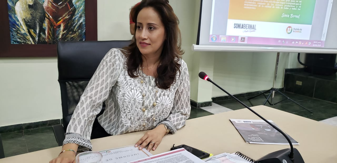 Sonia Bernal dijo adiós a la Asamblea del Casanare