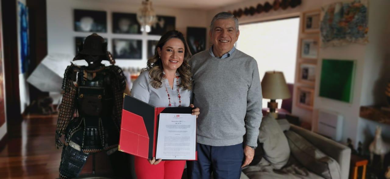 Lilian Fernanda Salcedo recibió Aval del Partido Liberal Colombiano.