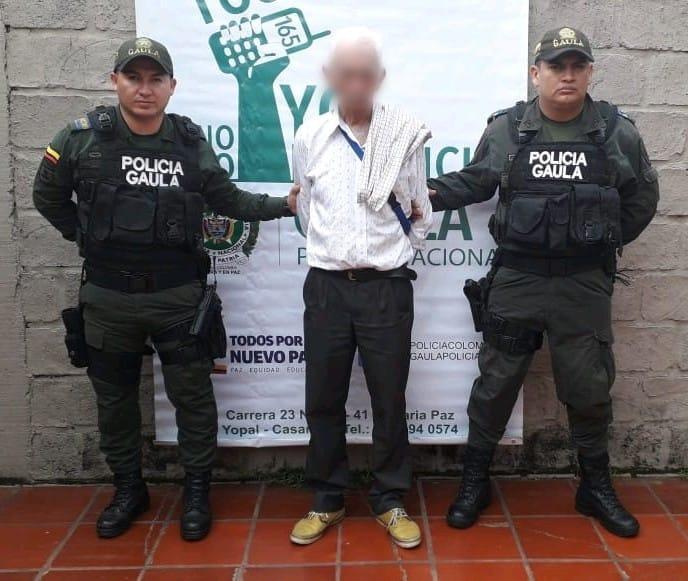 Capturan en San Luis de Palenque un hombre de 70 años por presunta extorsión