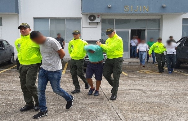 Capturan tres presuntos atracadores del comercio de Yopal