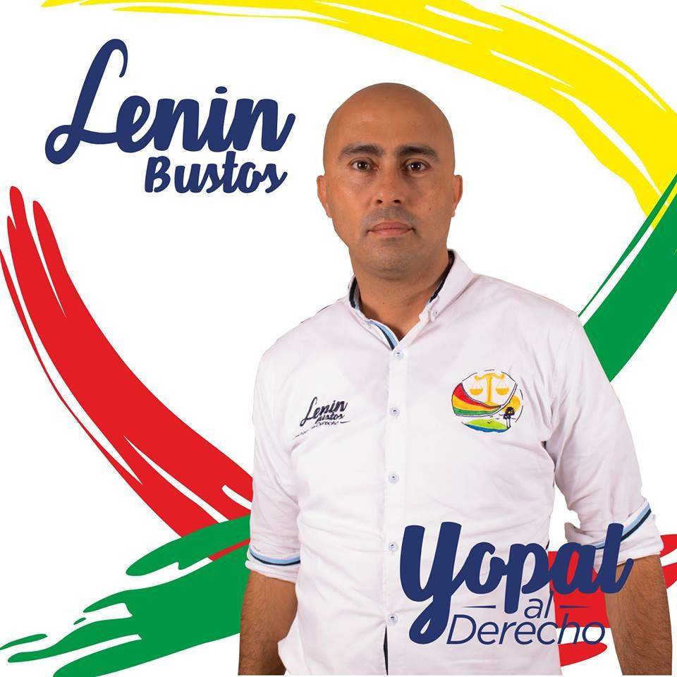 Lenin Bustos no puede ser candidato a la alcaldía de Yopal