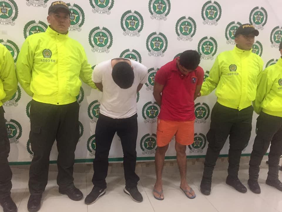Capturados dos hombres en aguazul por agredir a mujeres