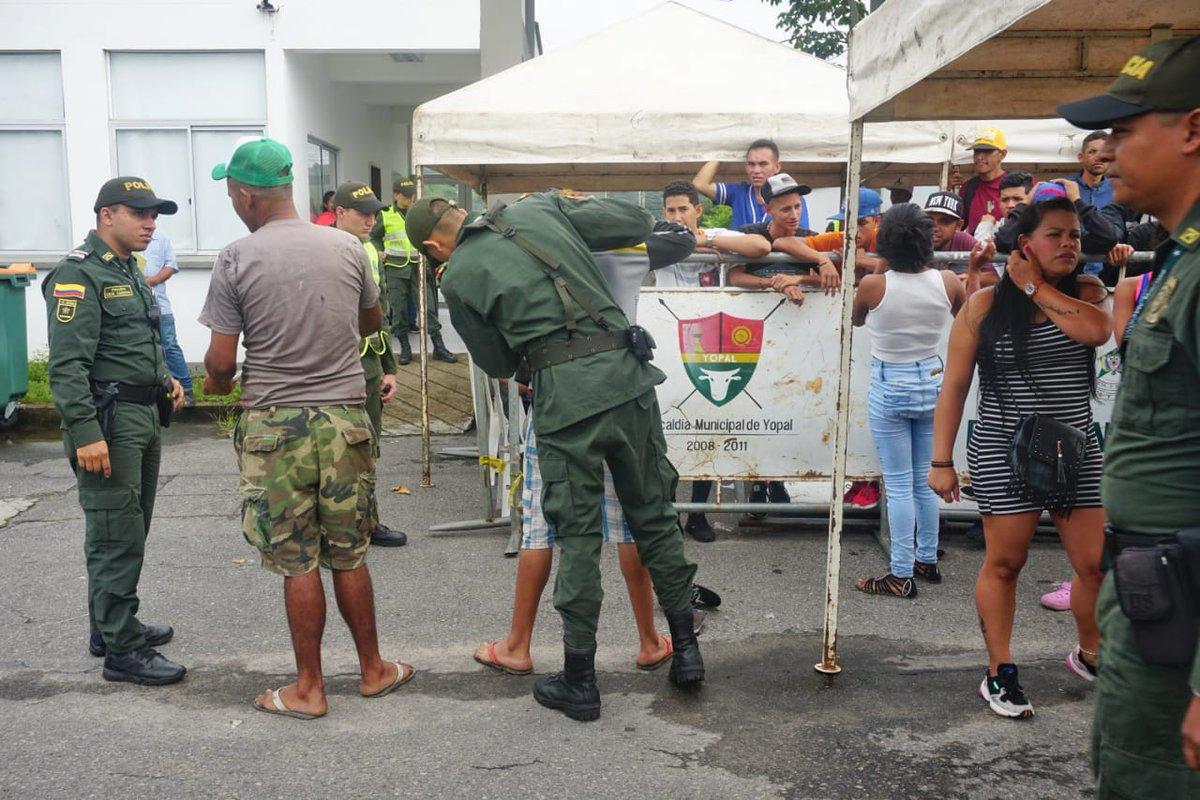 73 venezolanos trasladados desde Yopal a zona de frontera