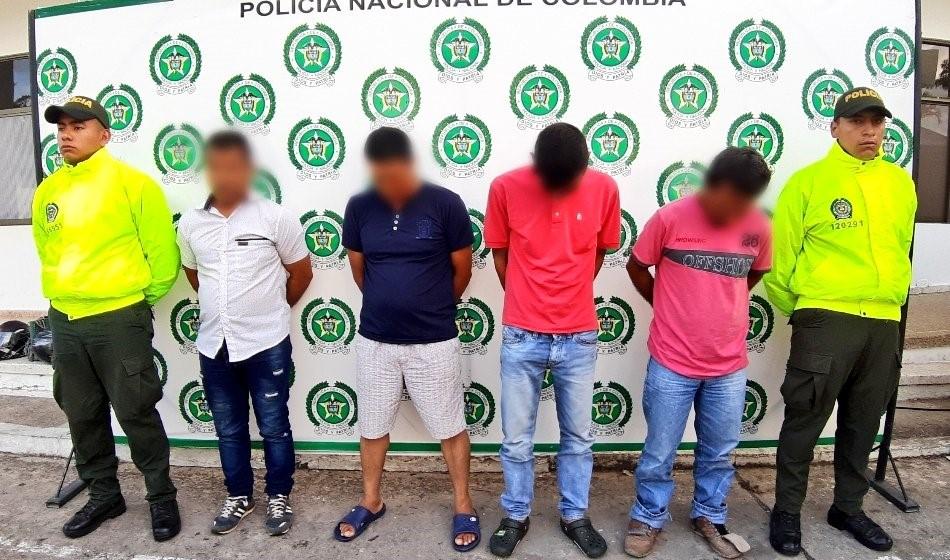 Capturados  cinco agresores sexuales de menores en Casanare