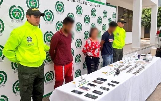 Capturadas 4 personas por tráfico de estupefacientes y porte de armas
